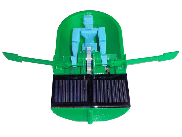 3d photovoltaics panel boat