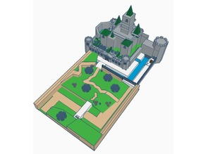 Hyrule Castle (Low Poly)