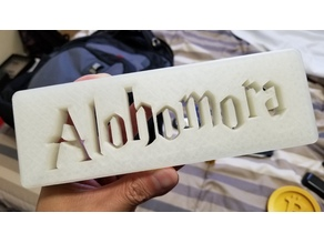 "Harry Potter ""Alohomora"" Plate"