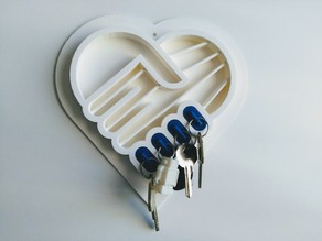e-Nable Wall Key Holder