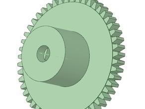Bobbin for pololu gearmotors