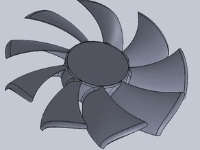 blades replacement for 120mm fan AirFlow
