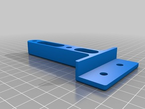 Power Supply Mount for Aluminum Extrusion