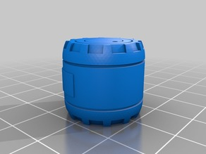 Sci-Fi Storage Drums (Scatter Terrain, 3 types)