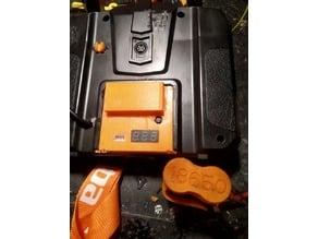 Flysky  FS i6 / i6x 18650 battery mod