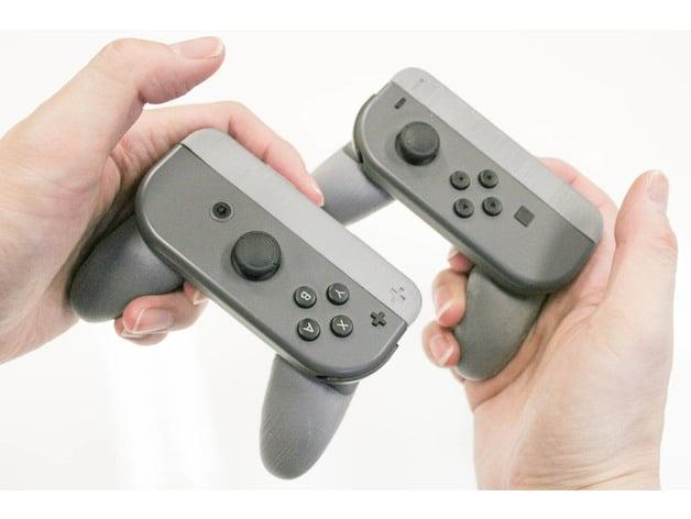 Nintendo Switch Single Joy-Con Grip + And - by manabun - Thingiverse