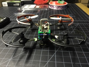 Tiny Whoop FX797T and VA1100 Camera Housing Minimalistic