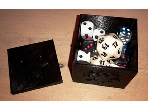 MTG EDH dice box