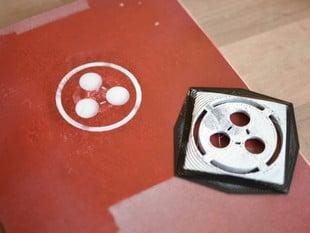 Space Chem Spray Paint Stencil