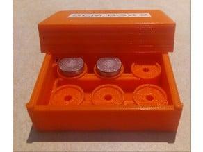 SEM Specimen Box for Pin Stub Mounts