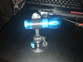 magnetic flashlight mount
