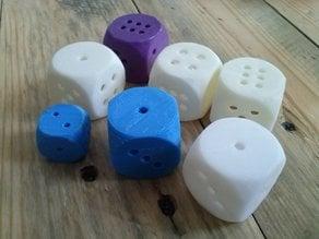 empty inside dice (K6)