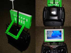 Screen Mount for drone controller