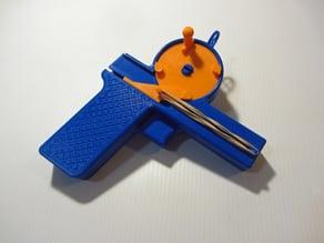 Airsoft Gatling Pistol