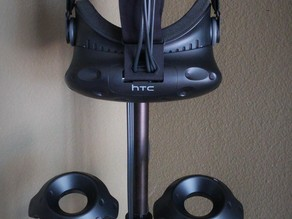 HTC Vive Headset & Controller 25mm Pole Mount