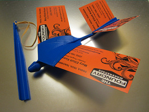 Business Card Glider