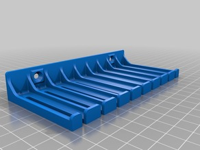 3mm cable holder with holes