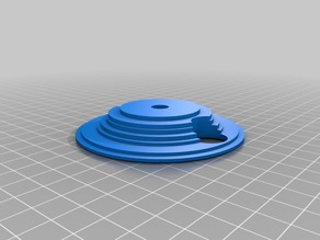 Ultra-simple spool adapter for Anet A8, A6 and others Edited for 14mm nuts
