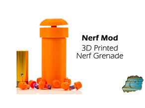 Nerf Grenade - 6 Dart  (Uses CO2/GreenGas)