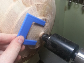Lathe/Wood Turning Sizing Template/Gauge