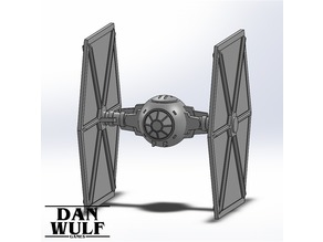 Star Wars Legion Terrain - DWG TIE Fighter