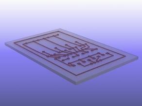 3D Printer PCB Ink Method