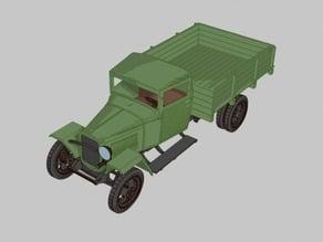 GAZ-MM-V wartime truck 1:56 (28mm)