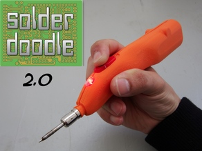 Solderdoodle Pro 2.0: USB Rechargeable Soldering Iron
