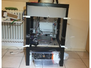 Prusa Enclosure fast print (only front)
