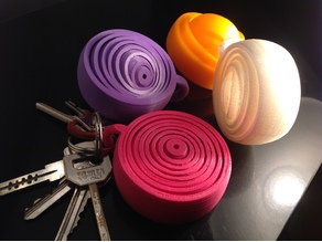 supergyroscopic relaxing keyring - 8 rings !