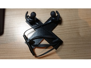 TaoTronics bluetooth earplug magnetic wall holder