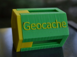 Geotrackable.org Geocache Container