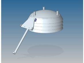Davis Vantage Pro 2 active solar fan kit