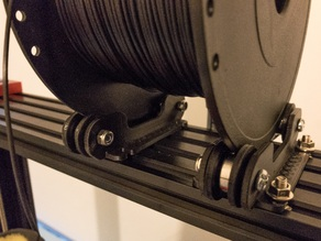 Spool/filament Holder - Tevo Black Widow - 2080 Extrude