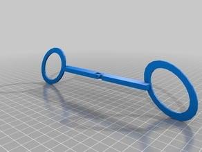 schaarbril scissorsspectacle