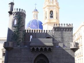 Castillo fiestas Moros y Cristianos (Alcoy)