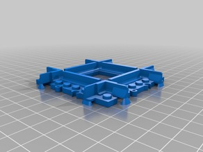 Lego Train Track Mini Crossing - solid