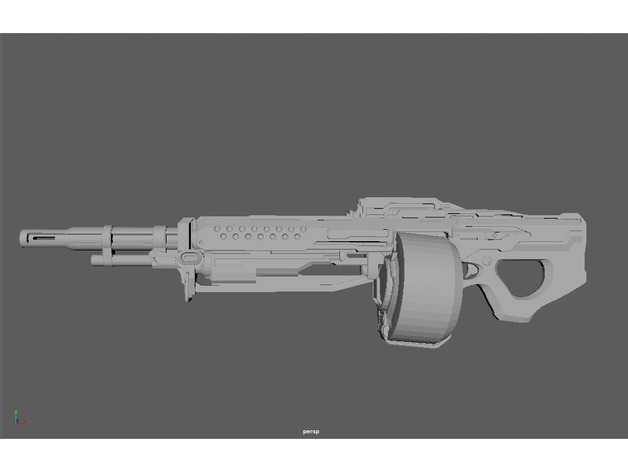 UNSC SAW [Halo 4/5] by misterchiefcostuming - Thingiverse