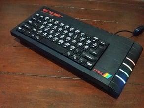 ZX Spectrum + Next edition case parts / Body kit (for Sinclair ZX Spectrum + case only)