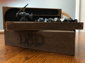D&D Dice Tray and Carrying Case