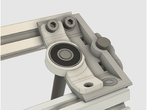 Mendel Max 1.5 z axis rod stabilizer for 608 ball bearings