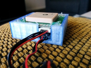 Case for older style UBlox GPS and Magnetometer Circuit Boards