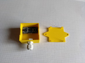 Case for HC-SR04 ultrasonic sensor
