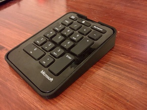 Cover for Microsoft sculpt number pad