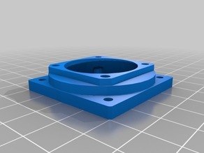 30mm to 40mm fan shroud adapter.