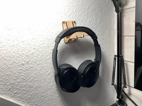 Wall Mounted Headphone Hanger