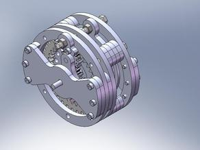4:1 2 speed planetary gearbox