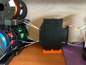 Prusa MMU Vertical Buffer Holder