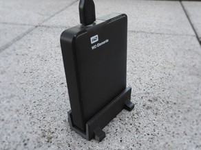 WD Elements vertical hard drive stand