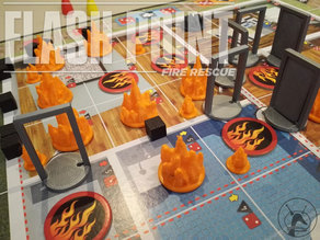 Flashpoint Boardgame Complete Makeover